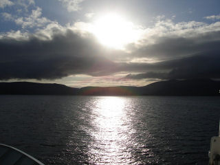 Arran from the Ferry