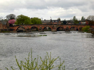 The Nith at Dumfries
